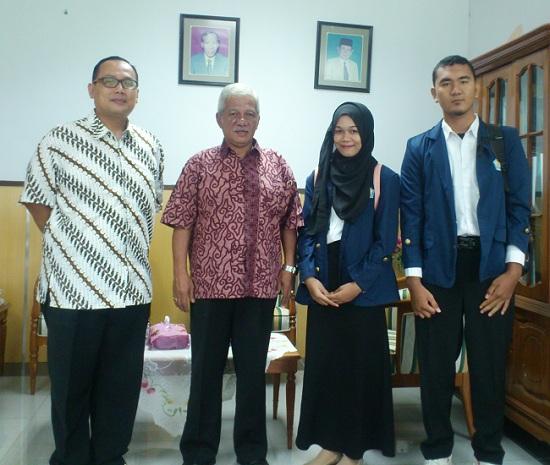3 mahasiswa UNIB ke Walailak University, Thailand