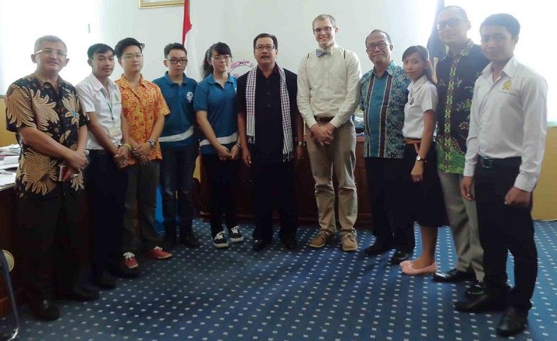 UNIB Kedatangan 10 Mahasiswa Luar Negeri